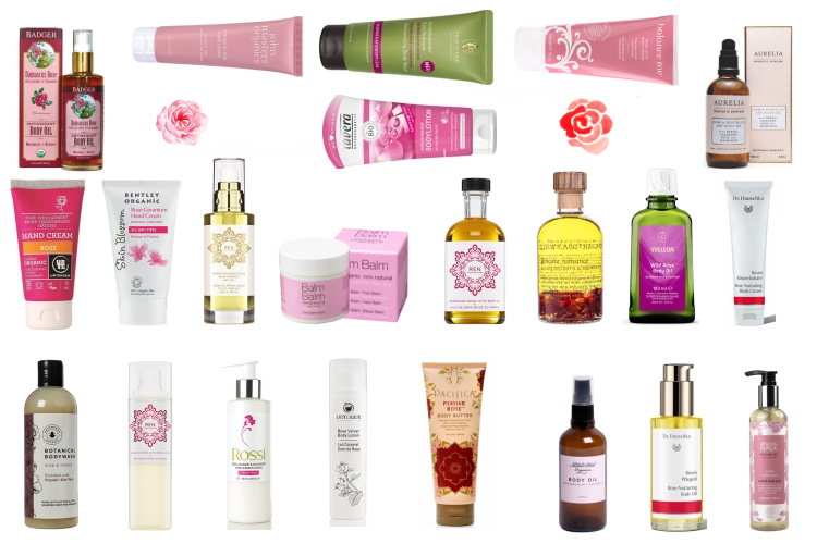 Rose Oil Body Care