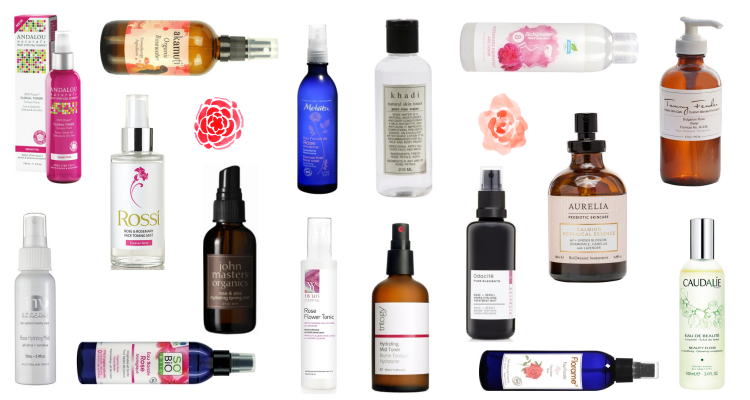 Rose Oil Toners