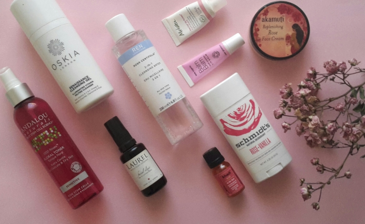 Rose Oil in Beauty Products