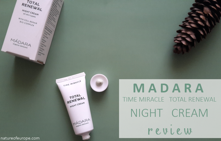 Madara Time Miracle Total Renewal Night Cream Review