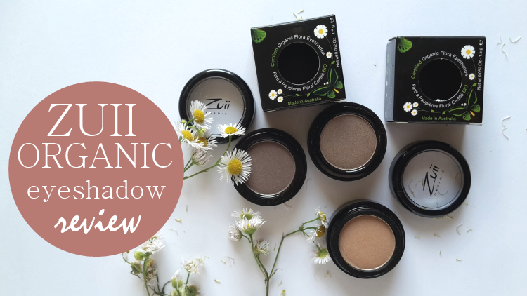 Zuii Organic Eyeshadows Review