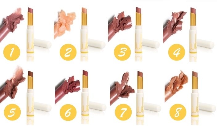 Luk Beautifood 8 colors Lip Nourish