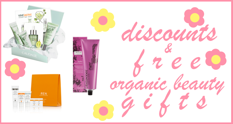 Weekly Discounts and Free Organic Beauty Gifts #68