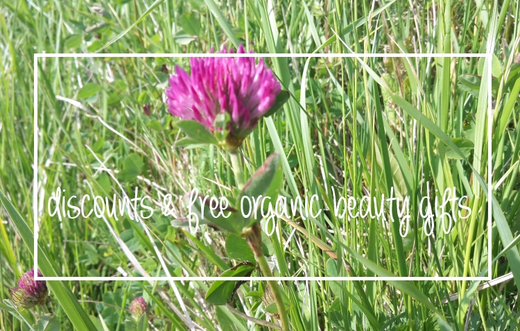 Weekly Discounts and Free Organic Beauty Gifts #79