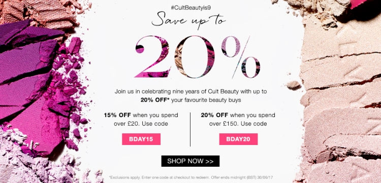 Cult Beauty Discount