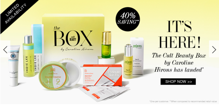 The Cult Beauty Box