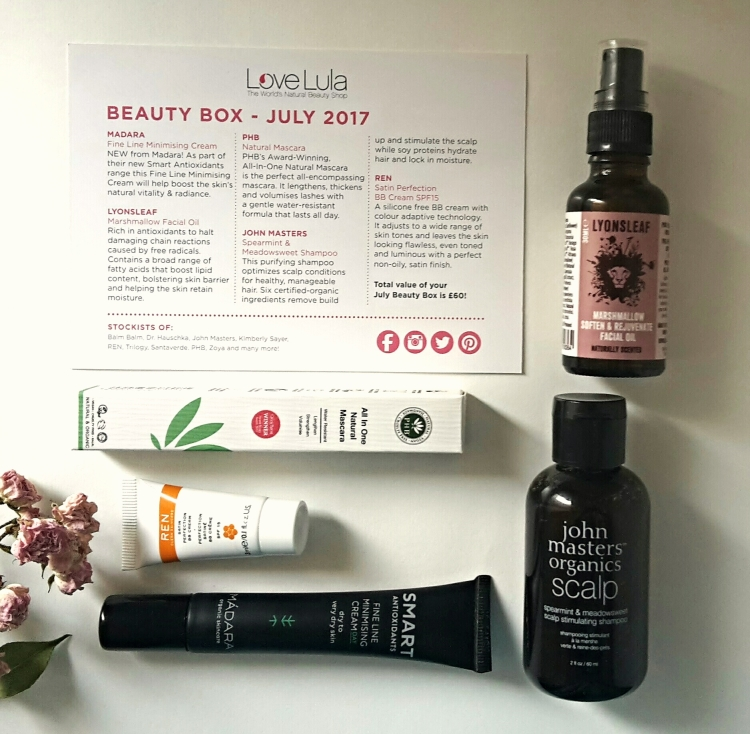Love Lula July Beauty Box