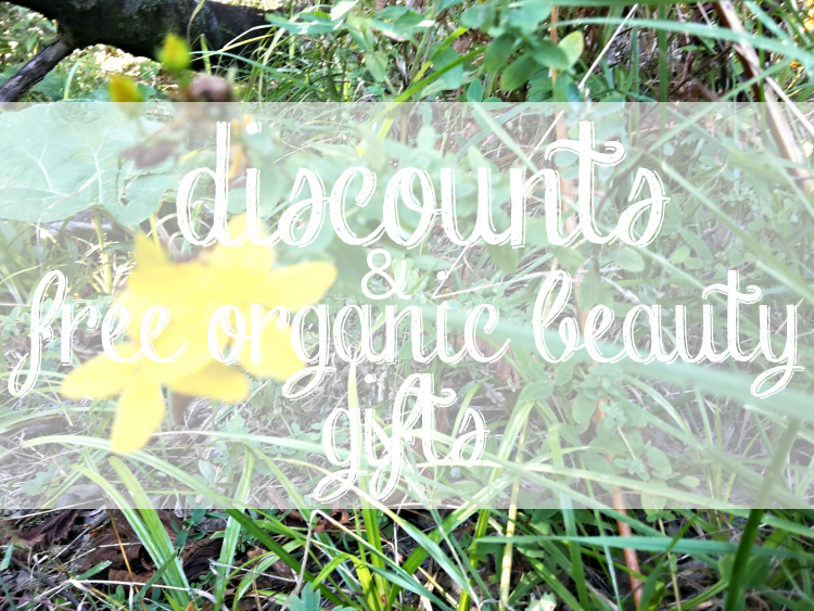Weekly Discounts and FREE Organic Beauty Gifts #86