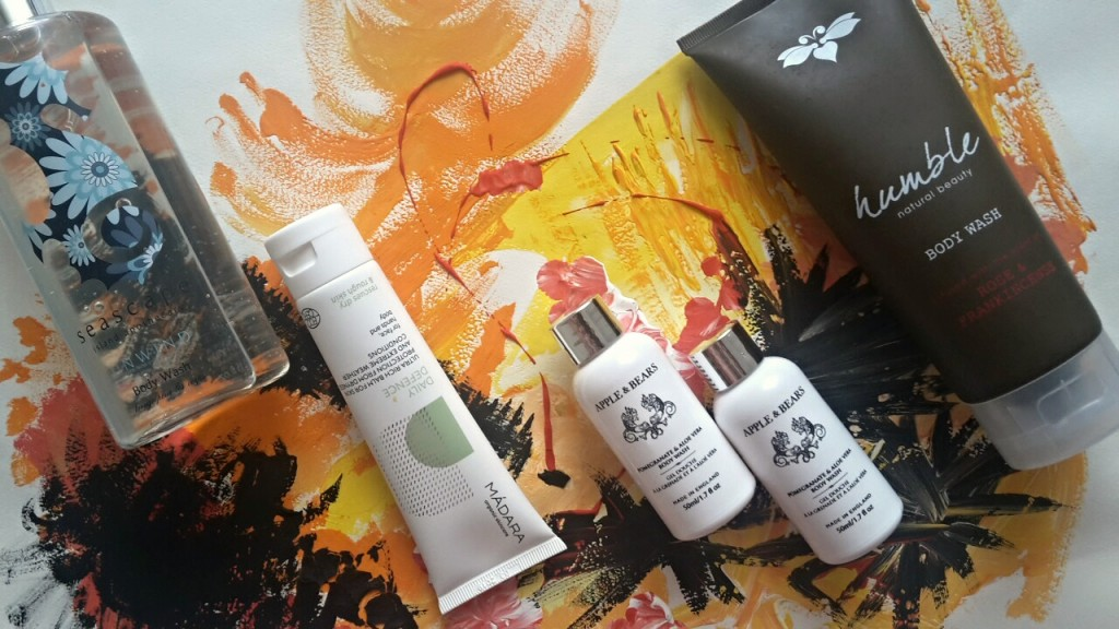 Mini Body Care Review: Madara, Humble Natural Beauty, Apple&Bears, Seascape Island Apothecary