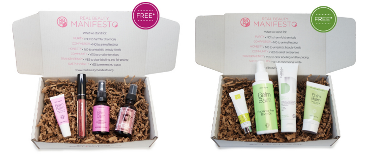FREE Love Lula Pink and Green Beauty Box