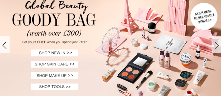 FREE Goody Bag worth worth £300