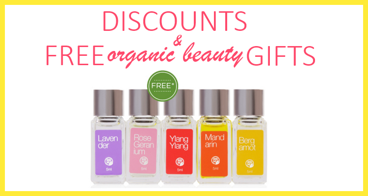 Weekly Discounts and FREE Organic Beauty Gifts #92