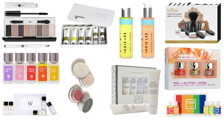 Green Beauty Holiday Gift Guide 2017 Gift Sets Under 50