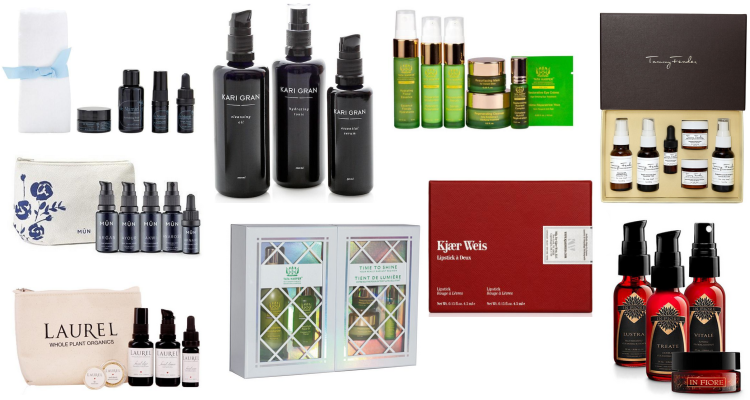Green Beauty Holiday Gift Guide 2017 Luxury Gift Sets
