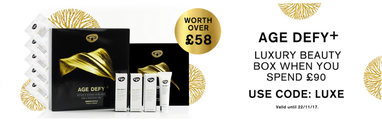 Green people FREE Luxe Beauty Box