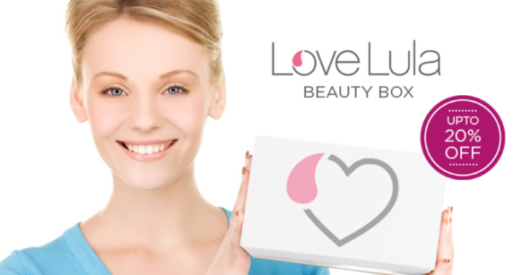 Love Lula Beauty Box 20% off for Yearly Subscription