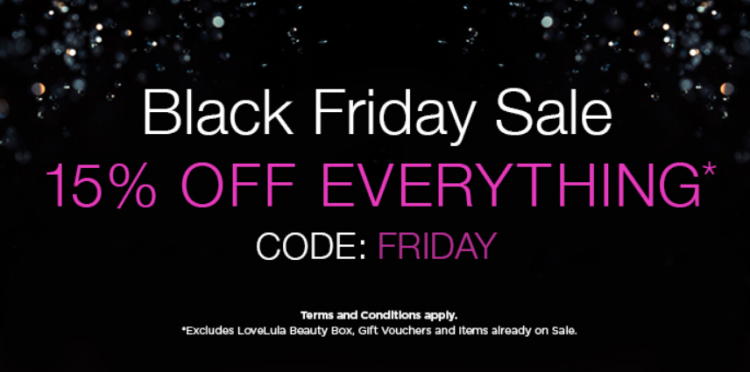 Love Lula Black Friday Sale 15% off