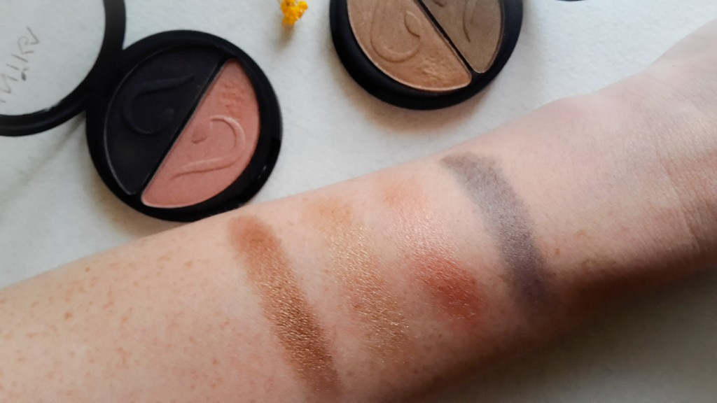 Inika Pressed Mineral Eye Shadow Duo Review