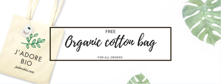 J'adore Bio Free Cotton Bag