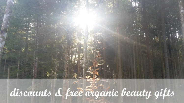 Weekly Discounts and Free Organic Beauty Gifts #103