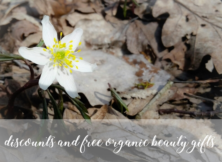 Weekly Discounts and FREE organic Beauty Gifts #111