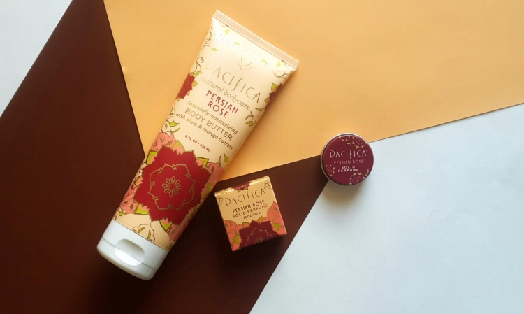 Pacifica Persian Rose Solid Perfume and Body Butter Review