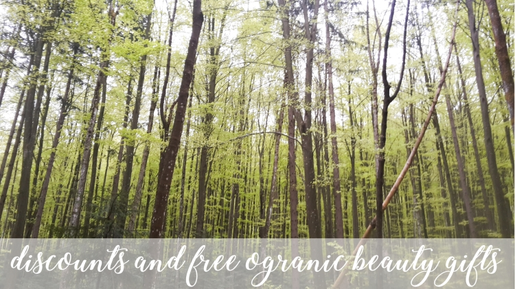 Weekly Discounts And FREE Organic Beauty Gifts #114
