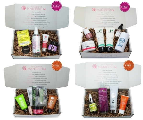 FREE Love Lula Beauty Boxes