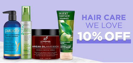 Iherb 10% off on Hair care