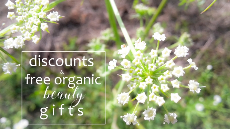 Weekly Discounts and FREE Organic Beauty Gifts #122