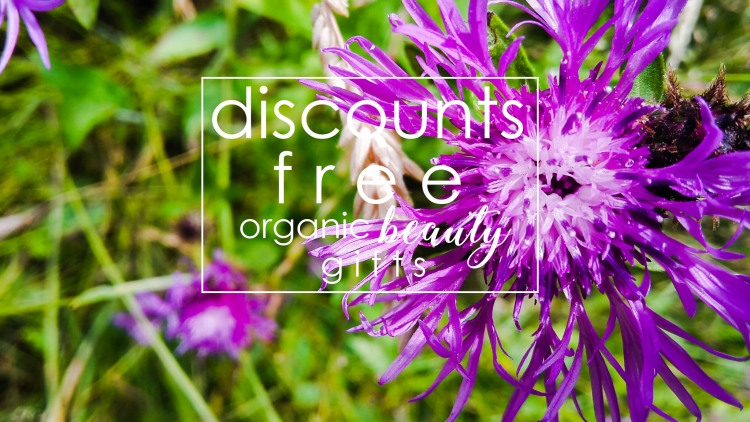 Weekly Discounts and FREE Organic Beauty Gifts #123
