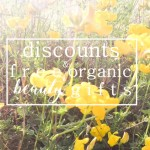 Weekly Discounts and Free Organic Beauty Gifts #124