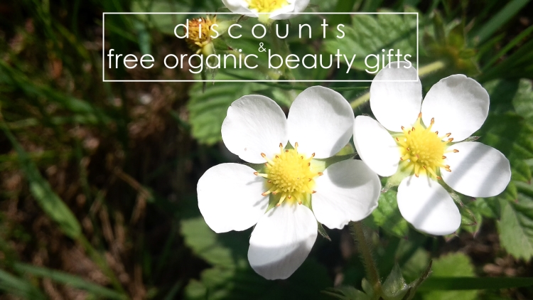 Weekly Discounts and FREE organic Beauty Gifts #121