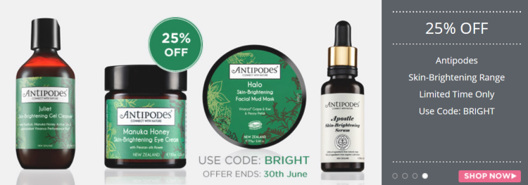 Antipodes 25% off