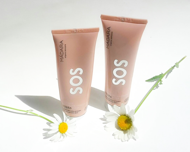 Madara SOS Hydra Moisture & Radiance Mask Review