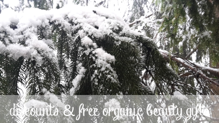 Weekly Discounts and FREE Organic Beauty Gifts #104