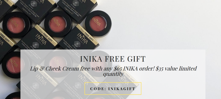 The Choosy Chick FREE Inika gift