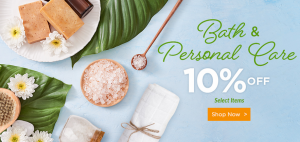 iHerb discount on Bath and Personal Care