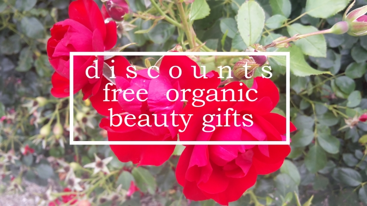 Weekly Discounts and FREE Organic Beauty Gifts #126