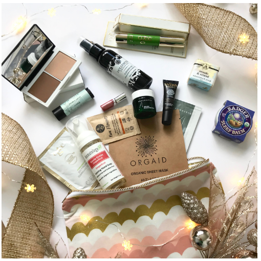 Choosy Chic Green Beauty Bag 2018
