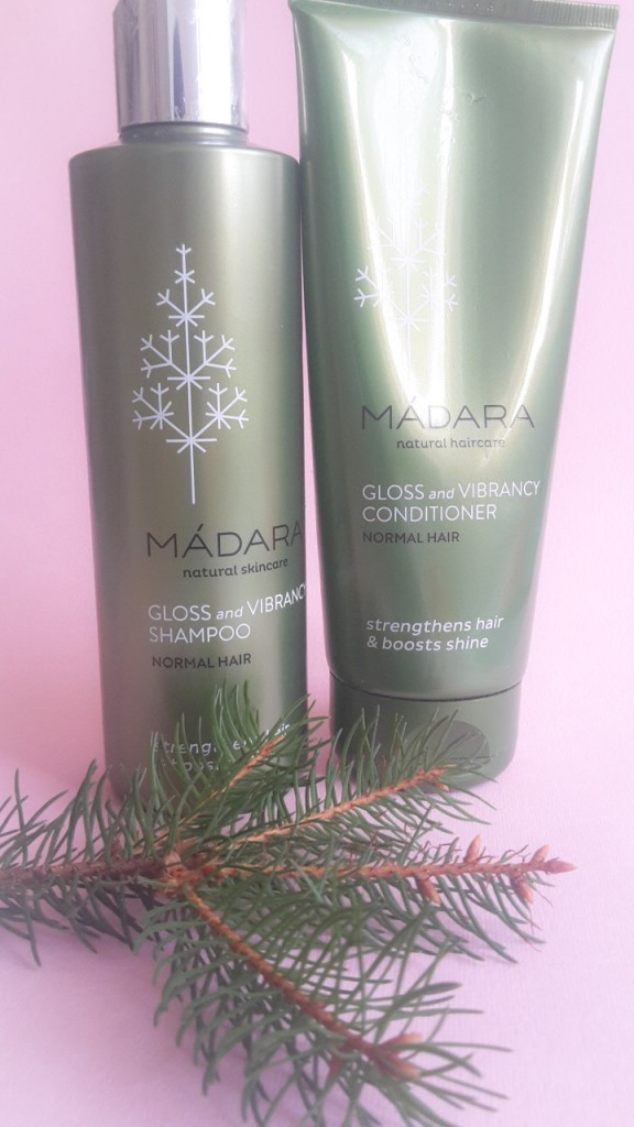 Madara Gloss and Vibrancy Shampoo and Conditioner