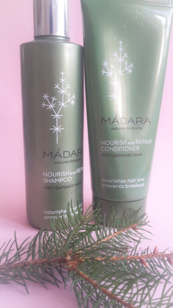 Madara Nourish and Repair Shampoo and Conditioner