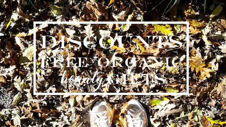 Weekly Discounts and FREE Organic Beauty Gifts #128