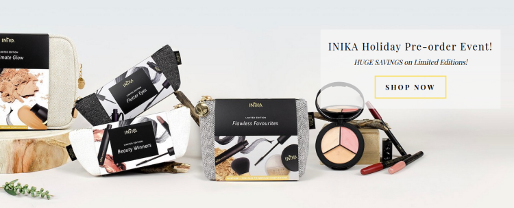 Inika Holidaz Limited Edition Collection