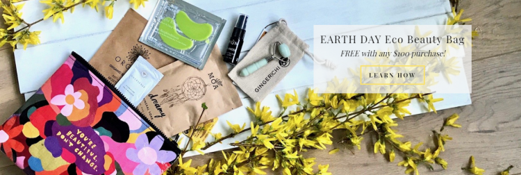 FREE Earth Day Eco Beauty Bag