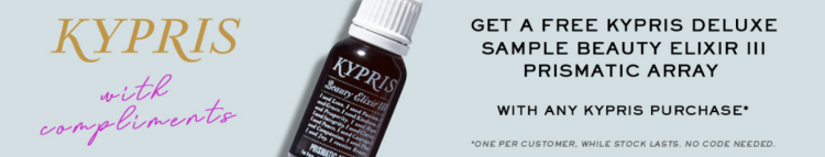 FREE Kypris Deluxe Sample Beauty Elixir