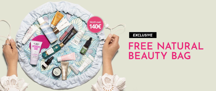 FREE Natural Beauty Bag