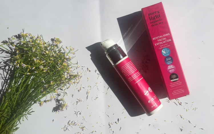 Pure&Light Organic Revitalising Facial Exfoliation Review