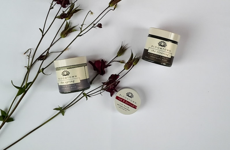 Bloomtown Soothing and Clearing Mask and Lip Balm Review
