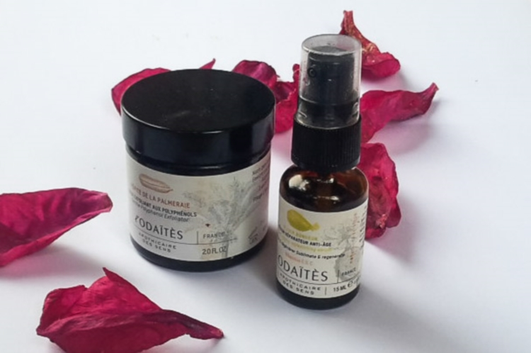 L'Odaïtès Replenishing Serum and Gentle Exfoliator Review